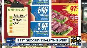 News video: Shopping soon? Find the best grocery deals
