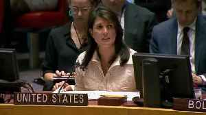News video: Nikki Haley Addresses Gaza Violence In Wake Of US Embassy Opening