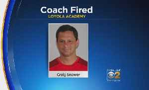 News video: Loyola Academy Girls Soccer Coach Fired Over 'Offensive Comments'