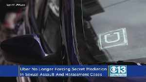 News video: Uber Changes Its Sexual Assault Policy