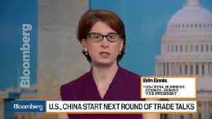 News video: U.S.-China Business Council's Ennis Previews Next Round of Trade Talks