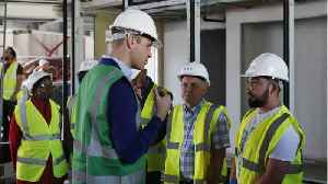 News video: Prince William Visits Grenfell Tower Area Ahead Of Wedding