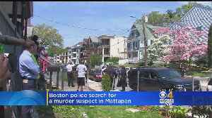 News video: Boston Police Search For Murder Suspect In Mattapan