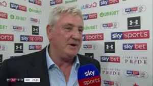 News video: Bruce: We just about edged it