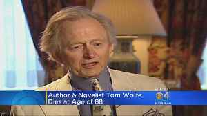 Tom Wolfe, 'Right Stuff' Author and New Journalism Legend, Dead at 88 [Video]