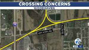 News video: 64/100 Train delay debate in Woodhaven leads to new signs on Allen Road