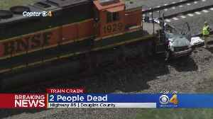 News video: 2 Killed In Vehicle-Train Collision