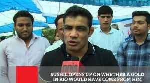 News video: Sushil Opens Up On Whether A Gold In Rio Would Have Come From Him