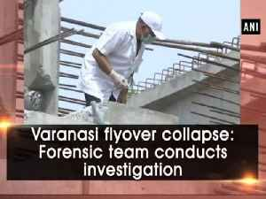 News video: Varanasi flyover collapse: Forensic team conducts investigation