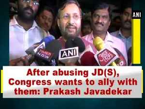 News video: After abusing JD(S), Congress wants to ally with them: Prakash Javadekar