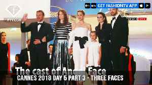 News video: Marion Cotillard on Three Faces Red Carpet at Cannes Film Festival 2018 Day 5 | FashionTV | FTV