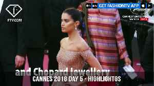 News video: Sara Sampaio and Kendall Jenner in Highlights from Cannes Film Festival 2018 Day 5 | FashionTV | FTV