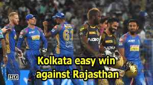IPL 2018 | Kolkata edge closer to playoffs with easy win against Rajasthan [Video]