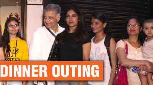 News video: Bhumi Pednekar With Her Family Spotted On A Dinner Outing | Bollywood News