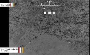 News video: Dramatic Video Shows US Airstrikes Killing Taliban Fighters In Afghanistan