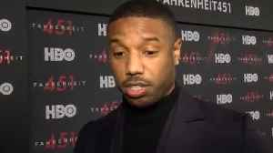 News video: Michael B. Jordan Thought Twice About 'Fahrenheit 451'