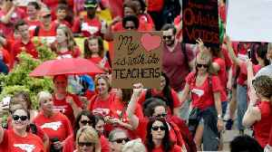 News video: Teachers In North Carolina Protest Over Low Pay