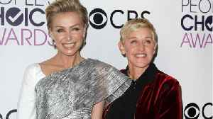 News video: Portia de Rossi Reveals She Has Quit Acting