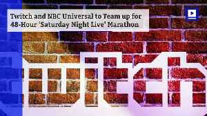 News video: Twitch and NBC Universal to Team Up For 48-Hour 'Saturday Night Live' Marathon