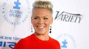 News video: Pink Shuts Down Social Media Troll