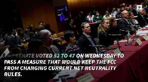 News video: Senate Votes on Measure to Save Net Neutrality