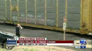 News video: 2 dead after car-train collision off Santa Fe Drive in Douglas County