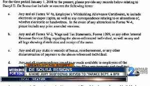 News video: Baltimore Police Commissioner De Sousa resigns after not filing taxes