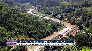 News video: People forced to leave elderly behind as they search for drinkable water in Puerto Rico