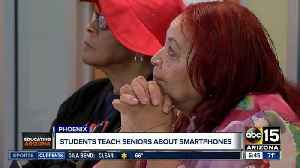News video: Students teach seniors about smartphones