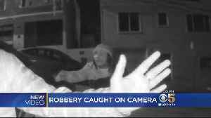 News video: Security Camera Video Captures Armed Robbery In San Francisco
