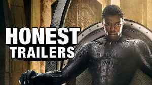 News video: Black Panther - Honest Trailers