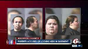 News video: Anderson mother, stepfather accused of locking children in basement without food, water or bedding