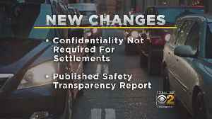 News video: Lyft, Uber To Allow Users To Pursue Sexual Assault Claims In Open Court