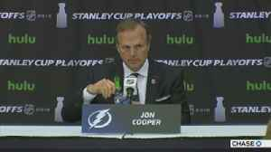 News video: Jon Cooper: Stars get you to playoffs, team play is how you advance