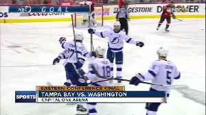 News video: Victor Hedman helps Tampa Bay Lightning beat Washington Caps to cut East Finals deficit to 2-1