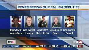 News video: Local fallen officers remembered