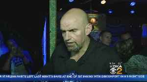 News video: Braddock Mayor John Fetterman Wins Democratic Primary Race For Lieutenant Governor