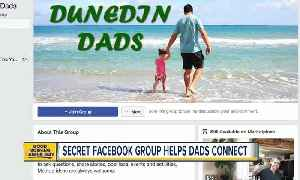 News video: Secret Facebook group helps dads connect