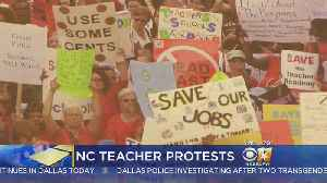 News video: Thousands Of North Carolina Teachers Set To Rally Over Pay