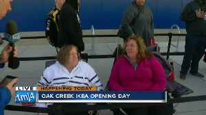 News video: Customers wait in line hours before IKEA's grand opening day