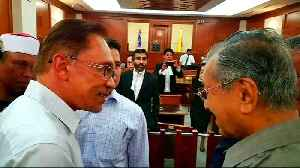 News video: Malaysia: Anwar Ibrahim released after getting full pardon