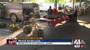 News video: Overland Park Farmers' Market now open on Wednesdays