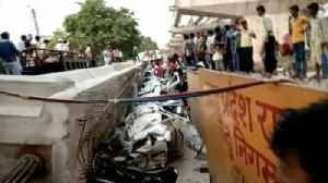 News video: Overpass Collapse in India Kills More Than a Dozen People