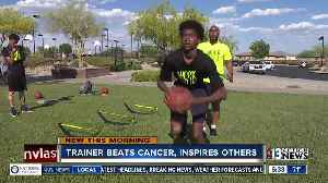 News video: Trainer beats cancer, inspires others