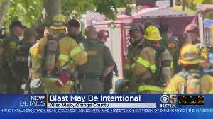News video: SoCal Building Explosion Investigated As Intentional