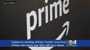 News video: Amazon Prime Members Score Additional Discounts At Whole Foods