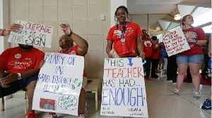 News video: North Carolina Teachers Walkout For Higher Pay