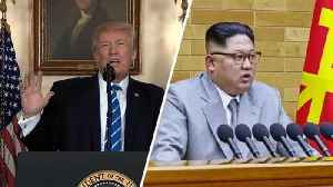 News video: Trump Responds To North Korea's Threat To Withdraw From Summit