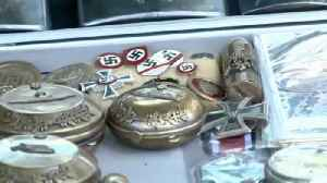 News video: Nazi memorabilia for sale in EU summit city