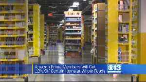 News video: Whole Foods Offering Amazon Prime Discount